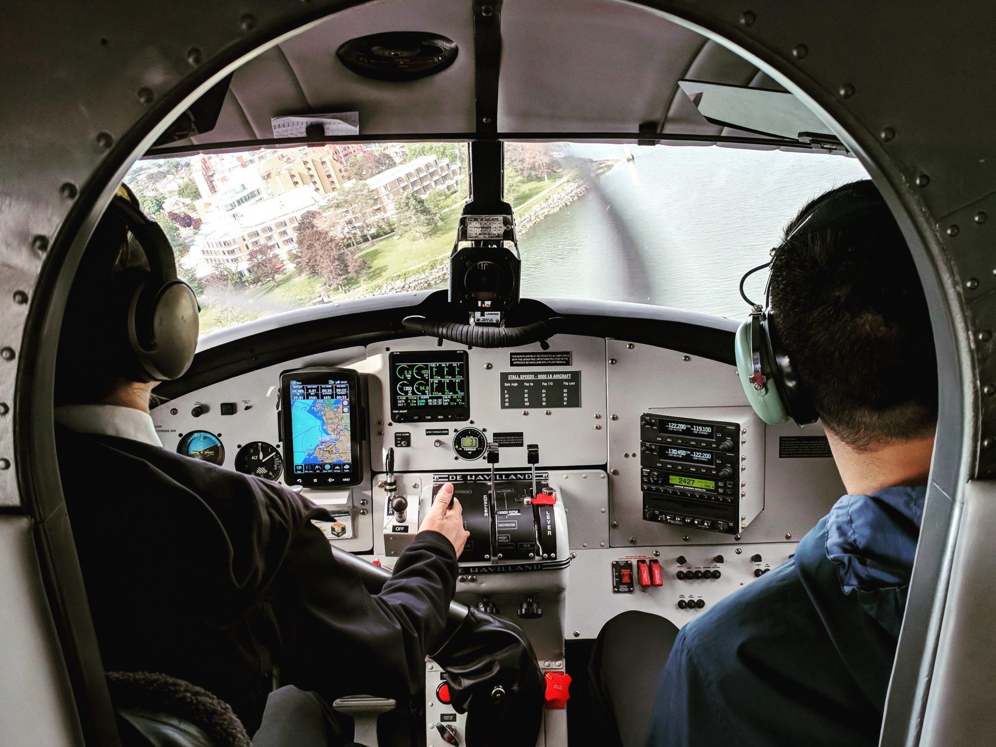Seaplane to Victoria